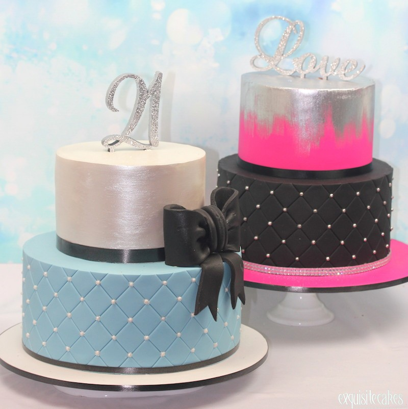 18th 21st Birthday Cakes Exquisite Cakes Sydney