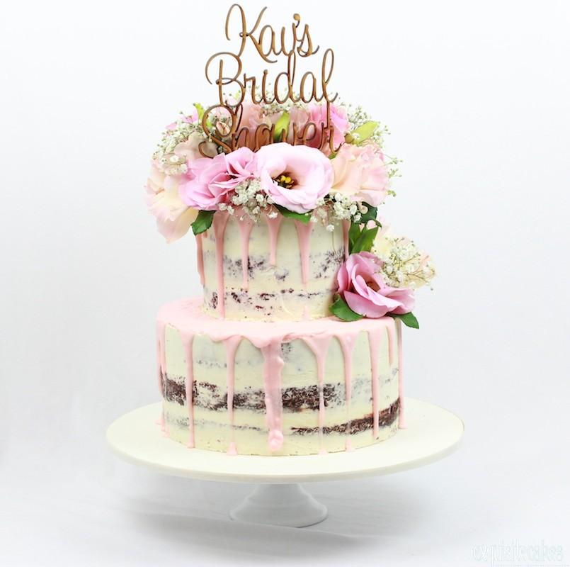 Naked Rustic Homestyle Celebration Cakes