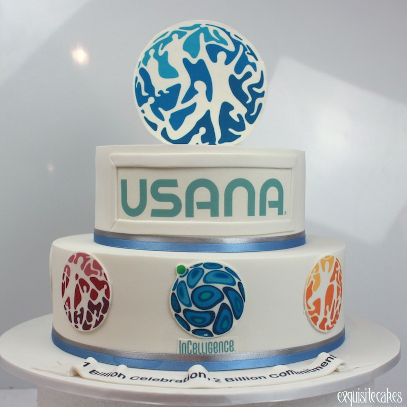 Corporate Cakes With Corporate Logo