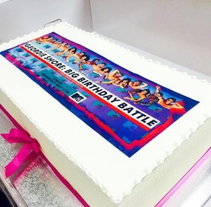 Geordie Shore Big Birthday Battle Cake