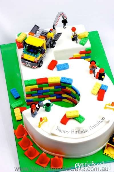 Half Paw Patrol And Lego Batman Cake