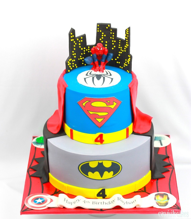 Prime Super Hero Inspired Cakes For All Birthdays Personalised Birthday Cards Veneteletsinfo