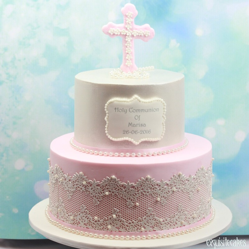 Lace And Frills Cake