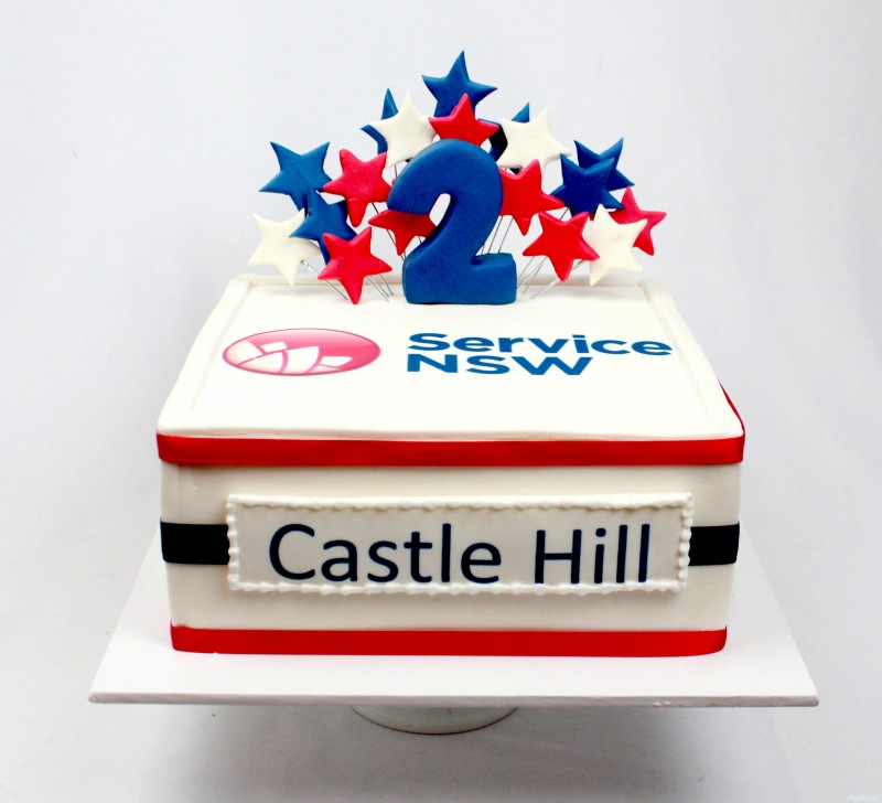 Corporate Cakes With Corporate Logo. Special Event Cakes