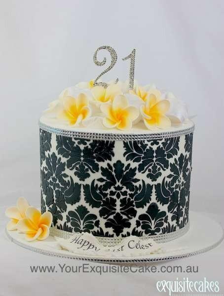 18th Amp 21st Birthday Cakes Exquisite Cakes Sydney