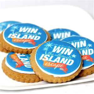 Cookies with logo for competition