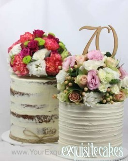 Naked Homestyle Rustic Cakes