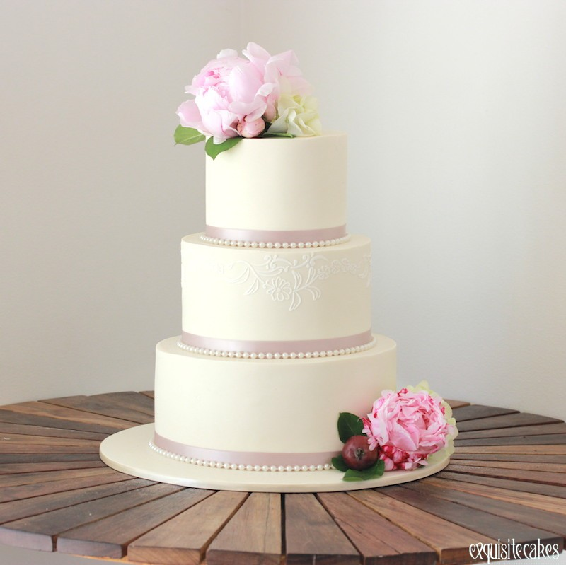 3 tier wedding cake styles sydney wedding cakes rustic fondant amp homestyle 10325