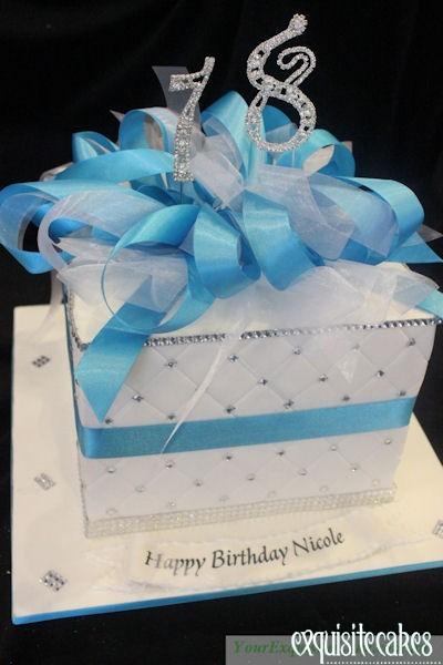 LARGE BOX 18TH BIRTHDAY PERSONALISED CHEF CAKE