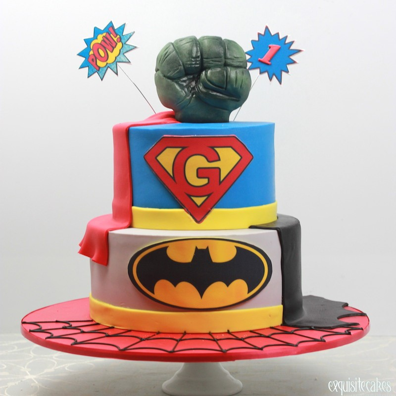 Super Hero Inspired Cakes For All Birthdays