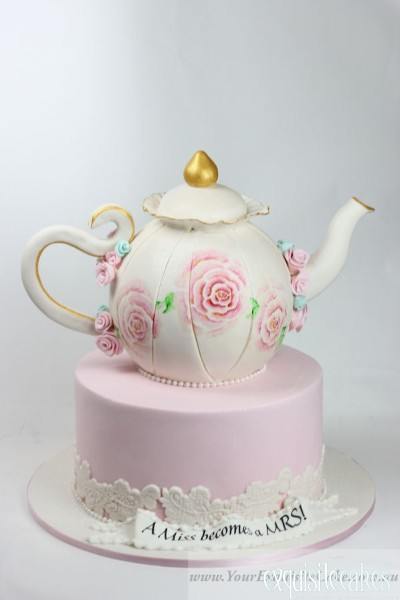 How To Make A Teapot Cake Topper