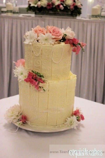 Chocolate Wedding Or Celebration Cakes