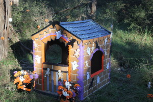The living room gingerbread house  at Park 3