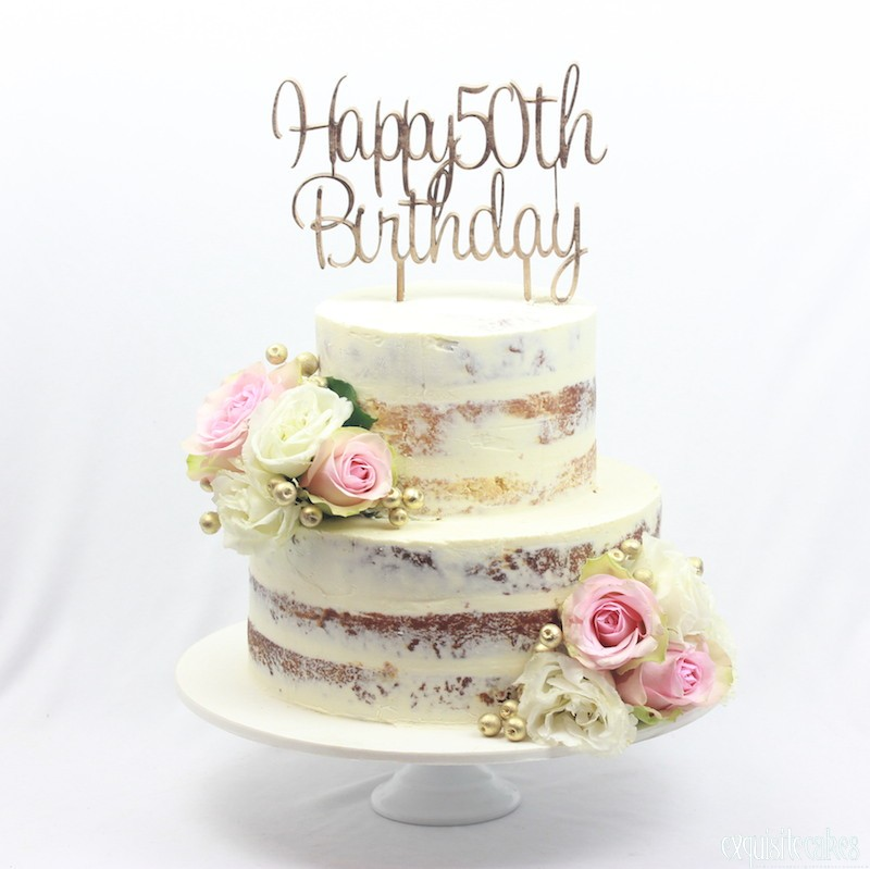 Super Rustic Semi Naked Cakes For All Special Occasions Funny Birthday Cards Online Elaedamsfinfo