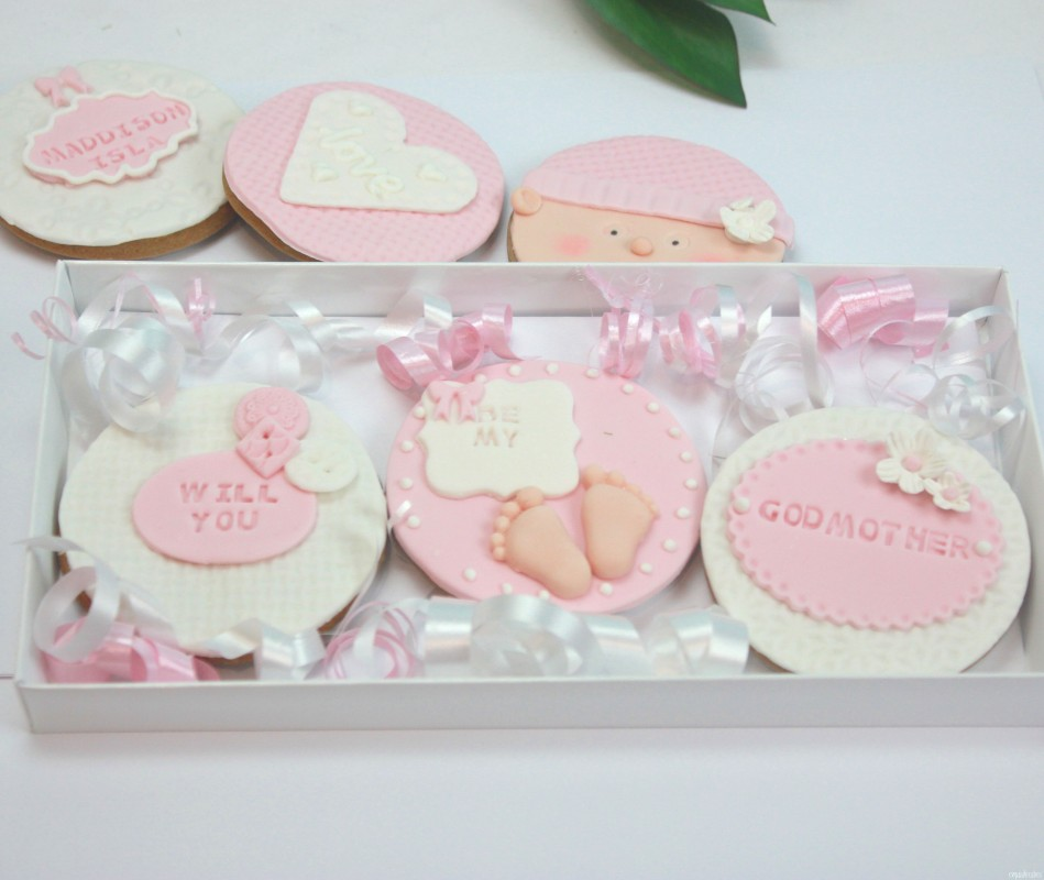 Baby Cookies For Baby Showers Christenings Or Hospital Visits