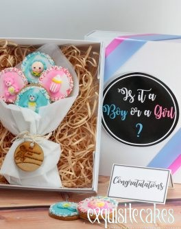 Customised cookie gift box